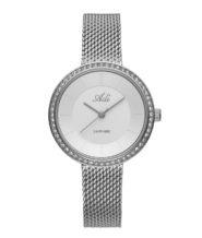 שעון יד לאישה רצועת מש זכוכית ספיר