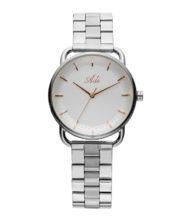 שעון יד לאישה אלגנטי מוכסף