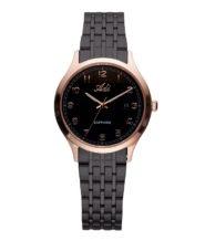 שעון נשים אלגנטי מוזהב שחור