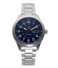 שעון פלדת אל חלד עם תאריכון לגבר