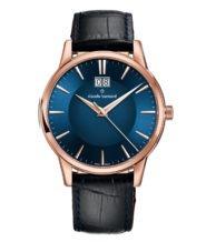 שעון שוויצרי קלאסי לגבר עם זכוכית ספיר