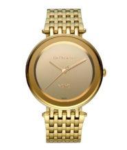 שעון מוזהב דגם NOHO לוח מראה