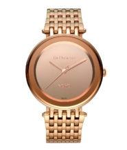 שעון רוזגולד דגם NOHO לוח מראה