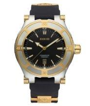 שעון לגבר מצופה זהב 18 קראט משולב