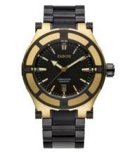 שעון לגבר מצופה זהב 18 קראט