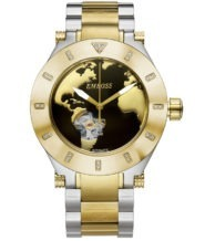 שעון אוטומטי בשיבוץ 26 יהלומים