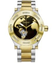 שעון אוטומטי בשיבוץ 56 יהלומים