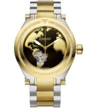 שעון אוטומטי בשיבוץ 100 יהלומים