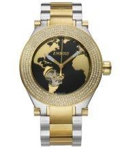 שעון אוטומטי בשיבוץ יהלומים מלא