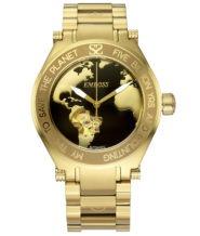 שעון יוקרה אוטומטי בציפוי זהב 18K