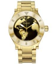שעון אוטומטי מוזהב בשיבוץ 26 יהלומים