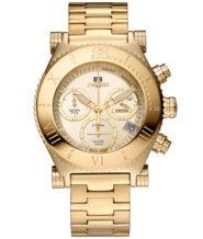 שעון לאישה מצופה זהב 18 קרט