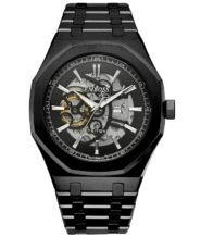 שעון אוטומטי שחור מדגם TRITION