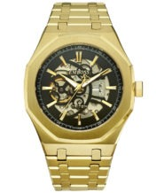 שעון אוטומטי בציפוי זהב 18K דגם TRITON