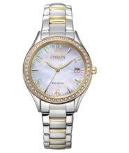 שעון סולארי לאישה עמיד במים