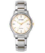 שעון סולארי לאישה עם תאריכון