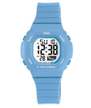 שעוני דיגיטלי כחול מבית QQ