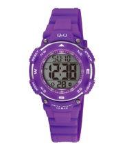 שעון יד דיגיטלי לילדים עמיד במים סגול