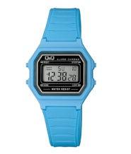 שעון יד דיגיטלי מלבני כחול
