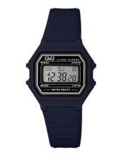 שעון יד דיגיטלי מלבני שחור
