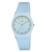שעון יד אנלוגי כחול לאישה