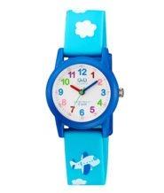 שעון יד כחול מעוצב לילדים עמיד במים