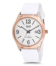 שעון יד לאישה עם רצועת סיליקון